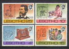 Lesotho 1976 Telefono/Persone/a G Bell 4v Set (n25043)