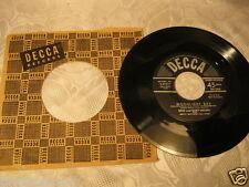 Bing and Gary Crosby Matty Matlock's all stars Moonlight Bay  45 record