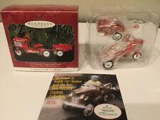 1998 Hallmark Ornament - 1955 Murray Tractor and Trailer Kiddie Car Classics #5
