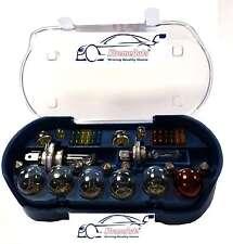 Viaje de 30 Piezas Kit incluso bombilla de repuesto H1 H4 H7 380 382 581 Bombillas & Fusibles