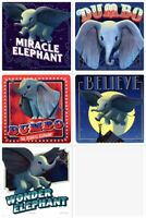 Dumbo Stickers x 5 Dumbo Movie Birthday Dumbo Party Elephant Stickers - Favours