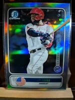 2020 Bowman Chrome Spanning The Globe Jo Adell ANGELS