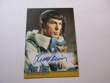 Star Trek TOS Captains Collection Autograph Card A280 Leonard Nimoy