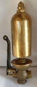 Lunkenheimer 3 inch Brass steam whistle # 200