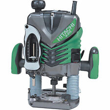 Hitachi M12v2 1/2in Variable Speed Router in MOULDED Case 1570 Watt 110 Volt