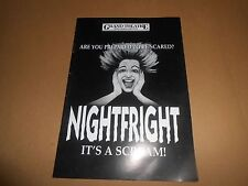 Nightfright - Colin Baker (Dr Doctor Who) / Helen Atkins Theatre Programme