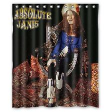 New Fabric Bath Curtain Janis Joplin Custom Shower Curtain 60x72 Inch