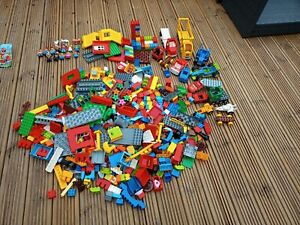 Approx 10 kilo Of Duplo Blocks, Figures,Vechiles