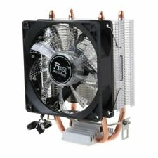 CPU Cooler 4 Pipes Dual Tower Cooling Fan HeatSink For LAG 1155 1156 775 AMD