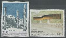 """ANDORRE Français:  n°430/431 **, """"Europa, art contemporain"""""""