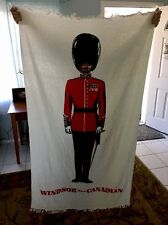 Windsor Supreme Canadian Whiskey Towel with Soldier