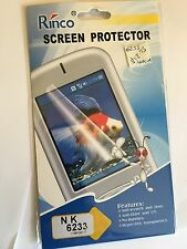Screen Guard Protector - Clear for Nokia 6233 SCG4272 Brand New & Sealed in pack
