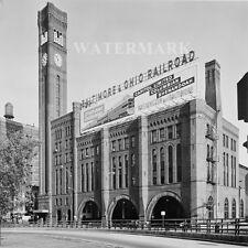 Grand Central Station Chicago Illinois 1963 Black & White 8 X 10 Photo