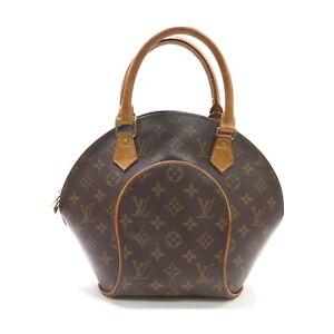 Louis Vuitton LV Hand Bag Ellipse PM M51127 Browns Monogram 1134762