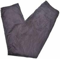 GANT Womens Trousers W32 L30 Black Cotton  DW12