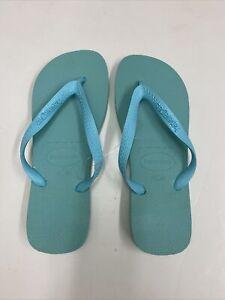 Havaianas TOP Women's Flip Flops - Size Brazilian 41/42 LIGHT ICE BLUE