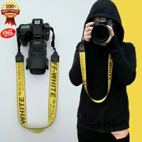 Nylon OFF White Camera Strap Camera Strap Shoulder Neck Belt For Digital Camera