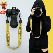 Nylon OFF White Camera Strap Camera Strap Shoulder Neck Belt For Digital Camera