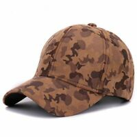 Camouflage Baseball Cap Men Women Outdoor Adjustable Snapback Sports Hats Casual