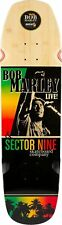 Sector 9 X Bob Marley Natty Ride Cruiser Deck Sz 30.9 x 8.5in