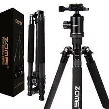 Pro Heavy-duty Carbon Fiber Camera Tripod Monopod Ball Head for SLR DSLR Camera