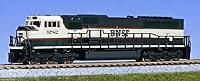 KATO 176-6301 N EMD SD70MAC cab headlight BNSF # 9776 Train NEW
