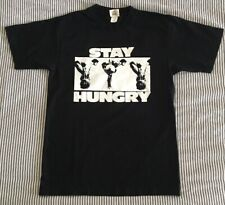 Y,IWO Stay Hungry T Shirt Size S Bodybuilding Black Gold's Gym Venice Muscle New