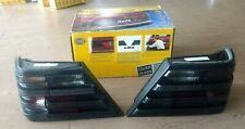 MERCEDES BENZ W124  HELLA Black Smoked,SET OF  Tail Lights.L&R SIDE NEW...FREE S