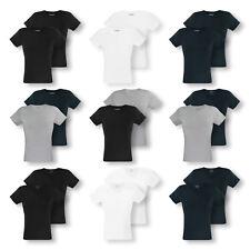 2er Pack EMPORIO ARMANI Herren T-Shirts Shirts kurzarm C-Neck V-Neck Farbwahl