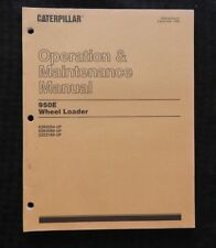 GENUINE CATERPILLAR 950E WHEEL LOADER TRACTOR OPERATION MAINTENANCE MANUAL NICE