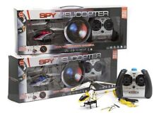 Spy Helicopter. Infra red 3.5 Channel Flying Camera. Yellow Free Postage.