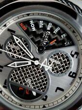 Invicta Bolt Zeus Tria Twisted Metal Carbon Fiber Dial Swiss Watch 3 Swiss Mvmts