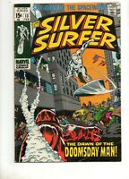 Silver Surfer #13 1ST APP The DOOMSDAY MAN! Fn 6.0 1970