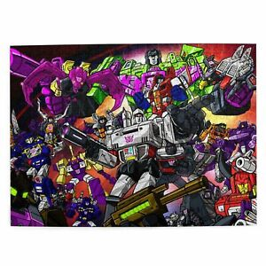 Transformers Kids Wooden Jigsaw Puzzle Adults Educational Game Toy 300-1000p