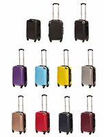Easyjet British airways cabin luggage 4 WHEELER hard CABIN LUGGAGE 55X38X23cms