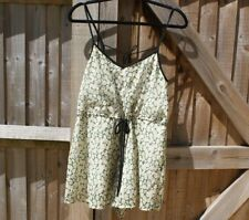 French Connection Floral Daisy Print Chiffon Playsuit Size M / UK 12 VGC Summer