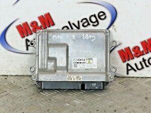 MAZDA 3 2013-2018 2.2 DIESEL ECU ENGINE CONTROL UNIT 275700-5605 SH12 18 881A