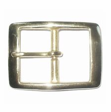 "1 1/2"" INCH - 38MM SOLID CAST BRASS FULL BELT BUCKLE"