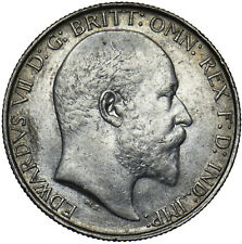 More details for 1903 florin - edward vii british silver coin - very nice