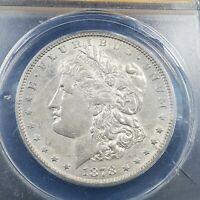 1878 S Morgan Silver Dollar Variety Coin ANACS AU55 VAM-6 DDO CONECA TOP 100 VAM