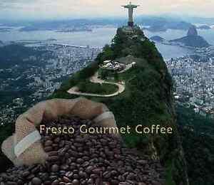 Brazilian Decaffeinated Coffee Beans 100% Arabica Bean or Ground Coffee