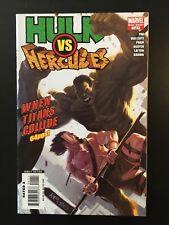 Hulk vs Hercules When Titans Collide #1 (2008 One-Shot Marvel) Greg Pak 64 Pages