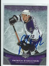 Patrick O'Sullivan Signed 2006/07 Upper Deck Ovation Rookie Card #185