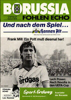 UEFA - EC III 85/86 Borussia Mönchengladbach - Lech Poznan, 18.09.1985
