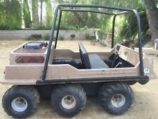 Max Iv 6X6 Amphibious Atv with Honda 24hp V-twin Engine and Comet Duster Clutch