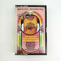 The Best of New Riders of The Purple Sage - Original Recording Cassette