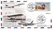 """A380-124 FFC """"100 years Airmail - Pequet / A380 - Concorde"""" (Bracquemont) 2011"""