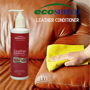 Ecoshield Leather Conditioner 250ml for Leather Furniture & Car Seats
