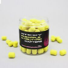 Pineapple and N Butyric Dumbell Wafters 12mm by Sticky Baits