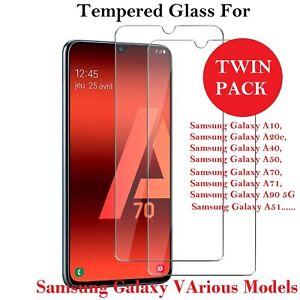 Samsung Galaxy A21s A42 A32 A12 A72 5G Genuine Tempered Glass Screen Protector